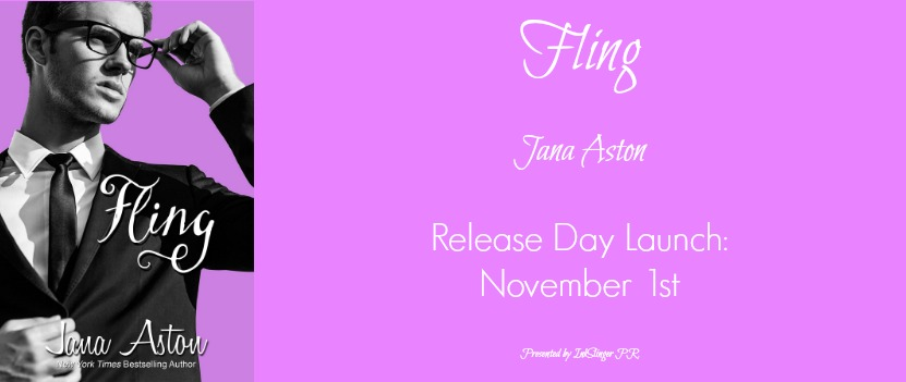 $100 GIVEAWAY and REVIEW and EXCERPT for FLING, by Jana Aston
