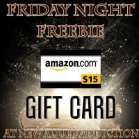 FRIDAY NIGHT FREEBIE: $15 Amazon Gift Card