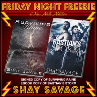 FRIDAY NIGHT FREEBIE: Signed Copy of Surviving Raine by Shay Savage