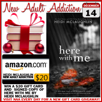 $20 GIVEAWAY and TEASER: Here With Me by Heidi McLaughlin