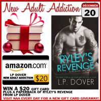 $20 GIVEAWAY and EXCERPT: Ryley's Revenge by LP Dover