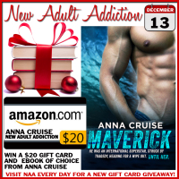 $20 GIVEAWAY and EXCERPT: MAVERICK BY ANNA CRUISE