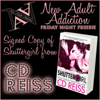 FRIDAY NIGHT FREEBIE: Win A Signed Copy of Shuttergirl by CD Reiss