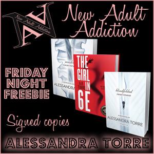 FRIDAY NIGHT FREEBIE: THREE Signed Books from Alessandra Torre