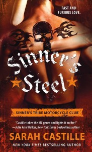 $25 Amazon GC GIVEAWAY RELEASE DAY: Sinner's Steel by Sarah Castille
