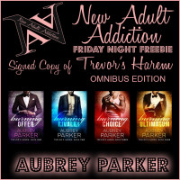 FRIDAY NIGHT FREEBIE: WIN a SIGNED COPY of Trevor's Harem Omnibus by Aubrey Parker