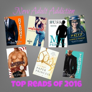 My Top Reads of 2016